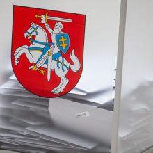 Parlamente – užmojis kitąmet surengti ir Seimo, ir seniūnų rinkimus