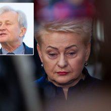 D. Grybauskaitė: K. Glavecko reikėjo ne tik Lietuvos, bet ir užsienio auditorijoms