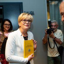 I. Šimonytė pasveikino G. Nausėdą: kai nelaimi rinkimų, tai pasaulis pasibaigia
