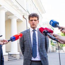"""Iširus """"tvarkiečių"""" frakcijai: R. Žemaitaitis sako, kad liks Seimo vicepirmininku"""