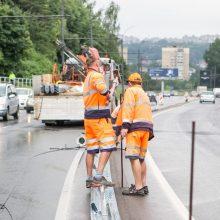 Nuokalnės gatvėje didės leistinas greitis: imtasi papildomų saugumo priemonių