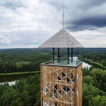 Atidarytas Birštono apžvalgos bokštas: norintiems aplankyti – patarimai