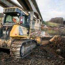 Nelaimė naujo Kauno tilto statybvietėje: vienas darbininkas žuvo, du sužaloti