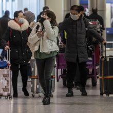 Dėl mirtino viruso – patikra oro uostuose: keturi Kinijoje lankęsi žmonės – sveiki