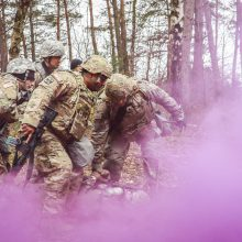 Europoje prasidėjo bendri JAV ir Lenkijos kariniai mokymai