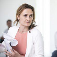 V. Čmilytė-Nielsen: nuotolinis Seimo posėdis galėtų vykti kitą savaitę