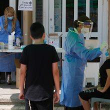 JAV koronavirusas plinta nevaldomai: per parą – beveik 40 tūkst. naujų atvejų