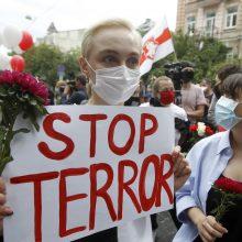 Seimo nariai surinko parašus: šaukiama neeilinė sesija dėl situacijos Baltarusijoje