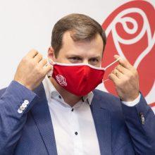 Po elektroninio balsavimo paaiškės, kas laikinai vadovaus Socialdemokratų partijai