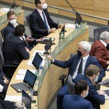 Seimo Žmogaus teisių komitetas pasigedo moterų tarp savo narių