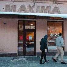 """Kęstučio gatvėje nebeliko """"Maximos"""" parduotuvės"""