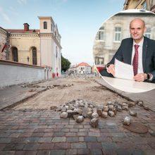 Kokio dydžio optimistai remontuos Vilniaus gatvę?