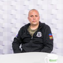 """""""Kauno dienos"""" studijoje – naras Ž. Anužis: apie pamestą brangų žiedą ir ištrauktą laivą"""