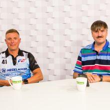 """""""Kauno dienos"""" studijoje – pokalbis su E. Riabko ir G. Jauniumi"""