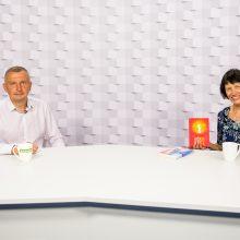 Gražvydas Muižys <span style=color:red;>(iš kairės)</span> ir Eglė Gleščinskienė