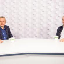Gražvydas Muižys <span style=color:red;>(iš kairės)</span> ir Mindaugas Balčiūnas