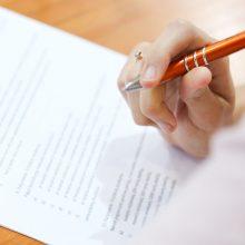 Abiturientai laikys matematikos egzaminą