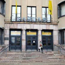 Kauno centriniame pašte architektūros muziejaus nebus