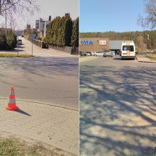 Kaune partrenkė senolį ir pasišalino iš įvykio vietos <span style=color:red;>(ieškomi liudininkai)</span>