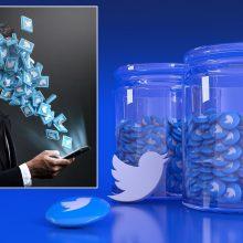 """""""Twitter"""" baus vartotojus, skelbiančius melagingą informaciją apie COVID-19"""