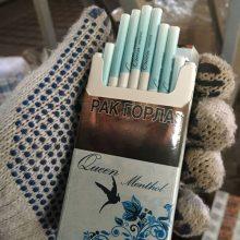 Lazdijų rajone rastas kontrabandinių cigarečių sandėlis