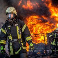 Neblaivus radviliškietis padegė sau priklausantį ūkinį pastatą