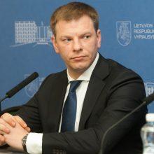 V. Šapoka Niujorke dalyvaus Pasaulio ekonomikos forume