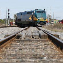 Kraupi nelaimė: ant bėgių rastas traukinio pervažiuoto jauno vyro kūnas