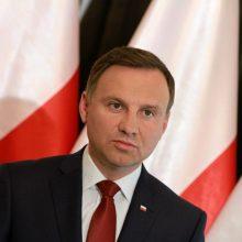 Seime lankysis Lenkijos prezidentas A. Duda
