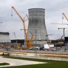 Baltarusija AE pirmojo reaktoriaus pramoninio naudojimo licenciją planuoja suteikti gegužę