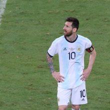 Košmariškas startas L. Messi: Argentina gavo antausį nuo Kolumbijos