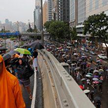 Į protestą Honkonge susirinko 1,7 mln. žmonių