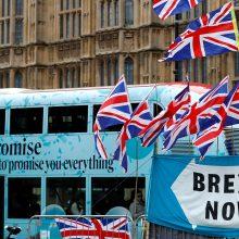 """""""Brexit"""" be sutarties planas: kas laukia Jungtinės Karalystės gyventojų ir verslo?"""