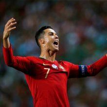 C. Ronaldo vėl pasižymėjo, anglai patyrė pirmą nesėkmę Europos atrankoje per 10 metų