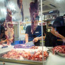 Kinijos Šendženo miestas uždraudė prekybą laukiniais gyvūnais ir jų vartojimą maistui