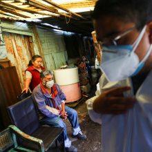 Meksikoje ir Peru užregistruota po daugiau kaip pusę milijono COVID-19 atvejų