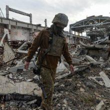 Kijevas: Maskva atvirai grasina sunaikinti Ukrainą