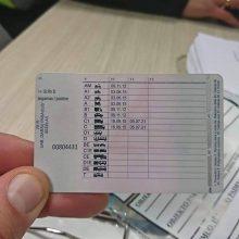 Į Lietuvą – su internete pirktu pažymėjimu