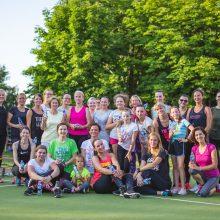 Nauda: treniruotės ne tik gerina sveikatą, bet ir stiprina bendruomeniškumą.