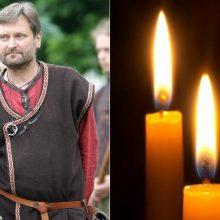 Po sunkios ligos mirė Kernavės rezervato direktorius S. Vadišis