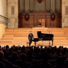 Pianistas K. Uinskas: sunkiausi egzaminai – koncertai gimtinėje
