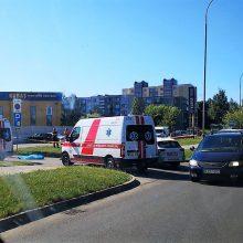 Panevėžyje žuvo į krovininį automobilį atsitrenkęs dviratininkas