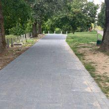 Kur dingo Santakos parke naujai pastatyti suoliukai?