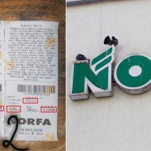 """""""Norfoje"""" sausainius pirkusi moteris nustėro: daugiau į šią parduotuvę nekelsiu kojos"""