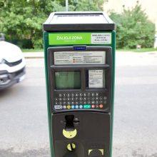 Aiškėja, kada Vilniuje bus baigti automobilių stovėjimo zonų ženklinimo darbai