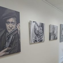 Panemunėje – Ž. Šlajaus portretų paroda