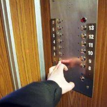 Apie 20 proc. liftų senos statybos daugiabučiuose yra avarinės būklės
