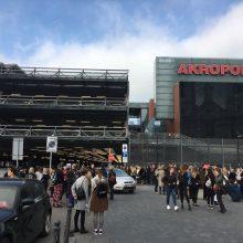 """Sujudimas Kauno """"Akropolyje"""" – dėl dūmų evakuotas visas prekybos centras"""