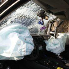 Leipalingio apylinkėse – dviejų automobilių avarija, yra nukentėjusiųjų