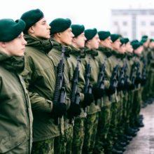 Planuojama pašaukti virš 3,8 tūkst. karo prievolininkų